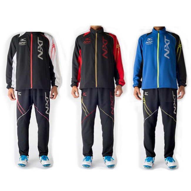 ミズノ N-XT ムーブクロスシャツ・パンツ上下セット U2MC7020/U2MD7020 N-XT 陸上 トレーニング スポーツ ユニセックス メンズ ジャージ MIZUNO 2017SS m2off