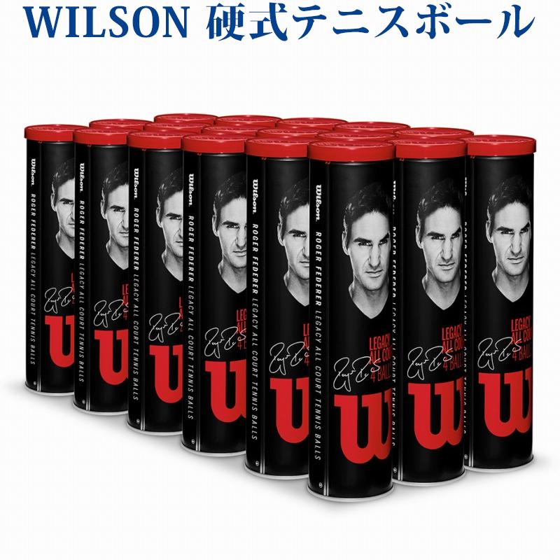 【在庫品】ウイルソン 硬式テニスボール RF レガシーボール 18缶1箱 WRT11990M 2018SS