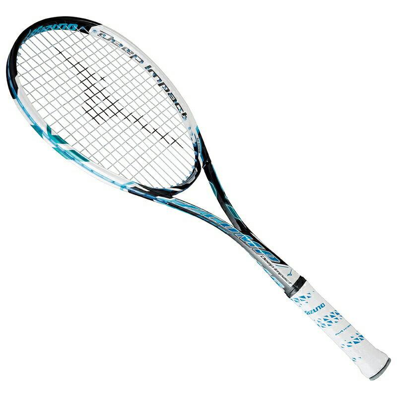 【取寄品】 ミズノ ディープインパクト Zコンプ63JTN55024 テニス ラケット 軟式 MIZUNO 送料無料