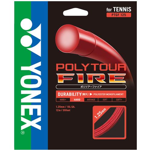 【取寄品】 ヨネックスポリツアーファイア125 ロール 240mPTF125-2 テニス ガット ストリングス ロールYONEX 2015AW 送料無料