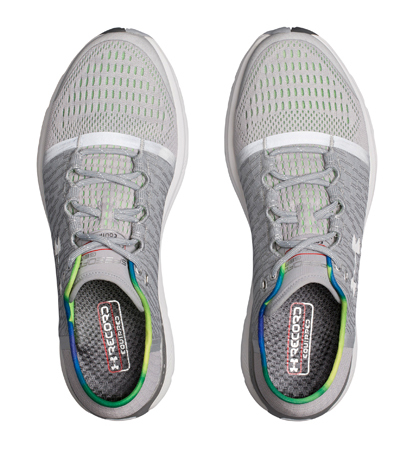 new arrival 8baf6 3805e Under Armour UA Speedform Gemini 3 GR RE OVERCAST GRAY/LIME LIGHT/METALLIC  SILVER 1,292,430-941 running jogathon shoes UNDER ARMOUR autumn of 2017 ...