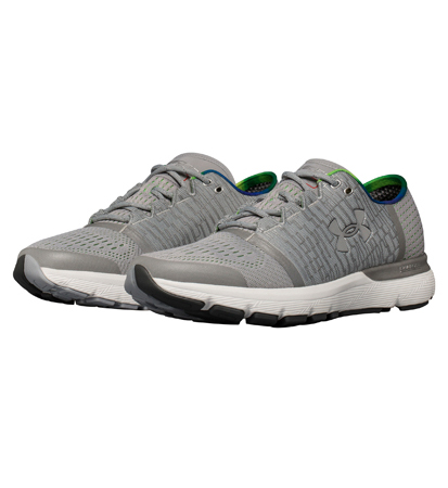 new arrival bc452 350eb Under Armour UA Speedform Gemini 3 GR RE OVERCAST GRAY/LIME LIGHT/METALLIC  SILVER 1,292,430-941 running jogathon shoes UNDER ARMOUR autumn of 2017 ...