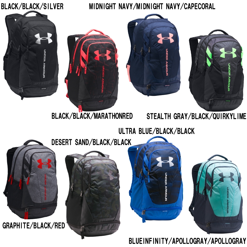 new arrivals 45b99 2f35c Under Armour UA HUSTLE 3.0 1294720 sports bag rucksack UNDER ARMOUR autumn  of 2017 winter model ...