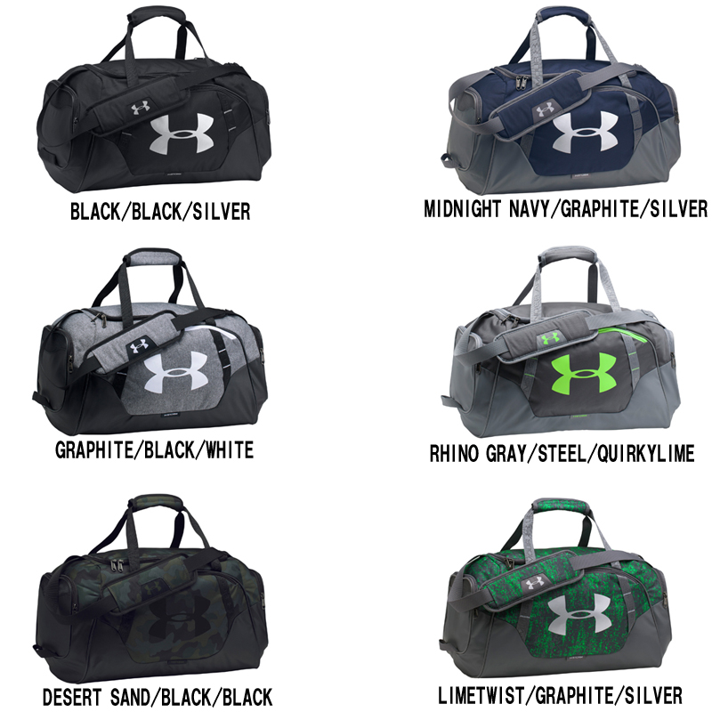 Under Armour UA UNDENIABLE DUFFLE 3.0 SD 1300214 sports bag Boston UNDER  ARMOUR autumn of 2017 winter model a7d36da542510