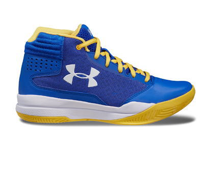 UNDER ARMOUR autumn of 2017 winter model for the under Armour grade school  jet 2017 UA BGS Jet 2017 SYN TEAM ROYAL WHITE WHITE 3 0bb7c951e4c