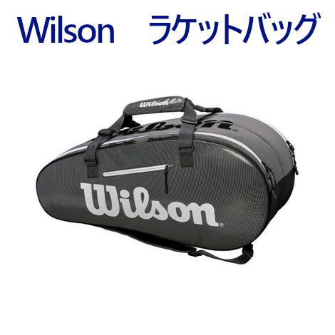 ウイルソン スーパーツアー 2 COMP BKGY LARGE WRZ843909 2019SS バドミントン テニス ソフトテニス 2019最新 2019春夏