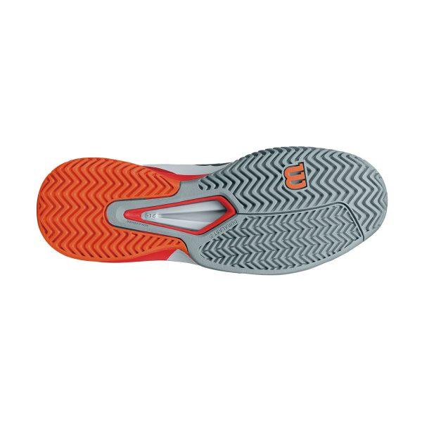 Wilson RUSH PRO 2.5 AC pearl blue x black x fire Lee Coral WRS322630 tennis shoes men oar coat model Wilson spring of 2017 summer model