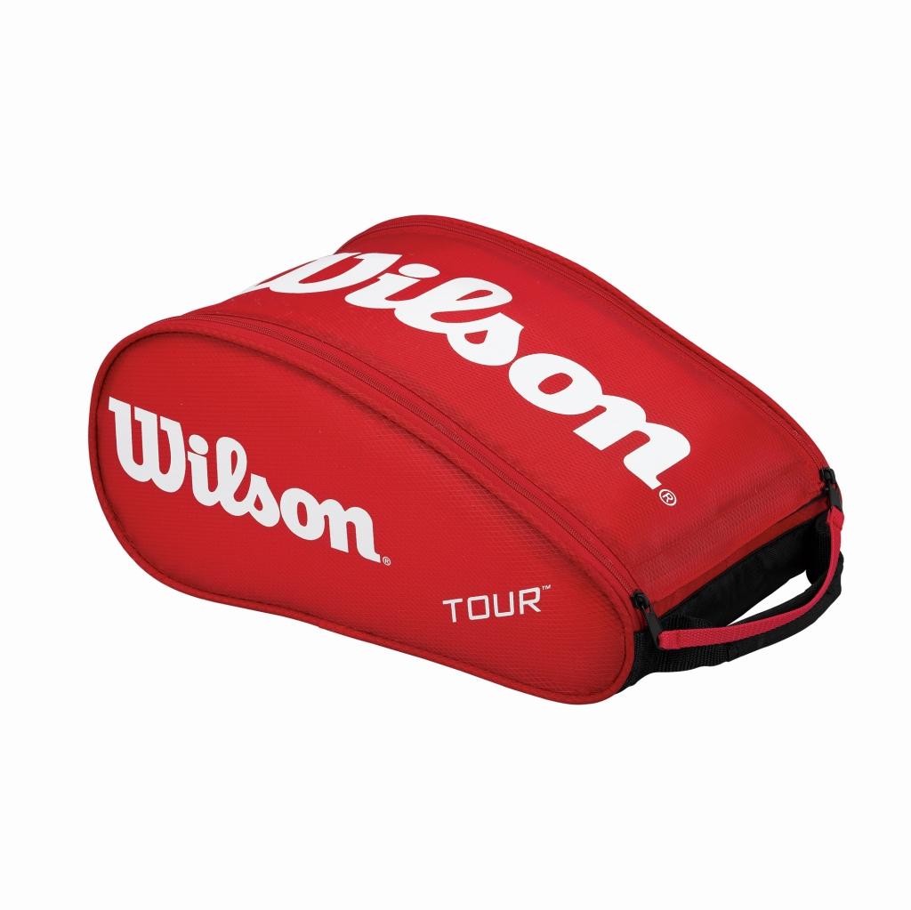 Wilson tour shoe bag 3 Red wrz843687 badminton tennis shoe rack storage  wilson 2016 spring summer models. dacef8388ecc2
