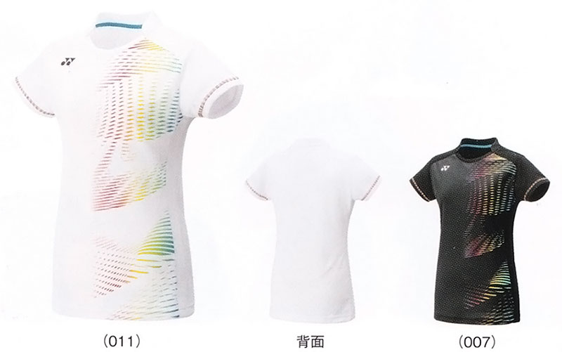 Yonex WOMEN t-shirts (slim long fit type) 20299 badminton tennis shirt  short sleeve Womens ladies women's YONEX packets for 2016 model Yu