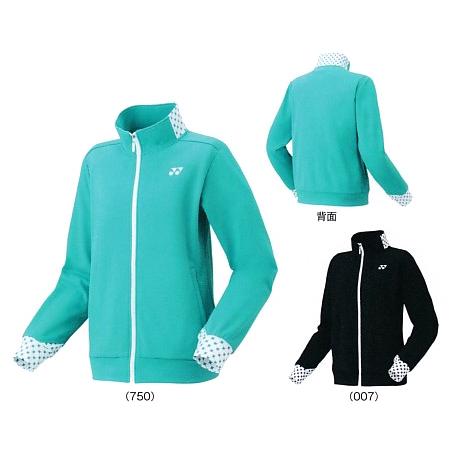 【在庫品】 ヨネックスニットウォームアップシャツ 58078バドミントン テニス ウエア ウォームアップレディース YONEX 2017AW