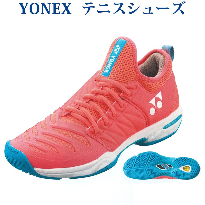 ヨネックス フュージョンレブ3 (ネイビー×ピンク・24.5cm) YO-SHTF3LAC-675-24.5 シューズ YONEX パワークッション ウィメン レディース AC テニス