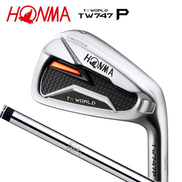 ホンマ(HONMA)TW747P アイアンセット 6本組(#5~#10)N.S.PRO 950GH スチールシャフト本間ゴルフ【TOUR WORLD】【あす楽】