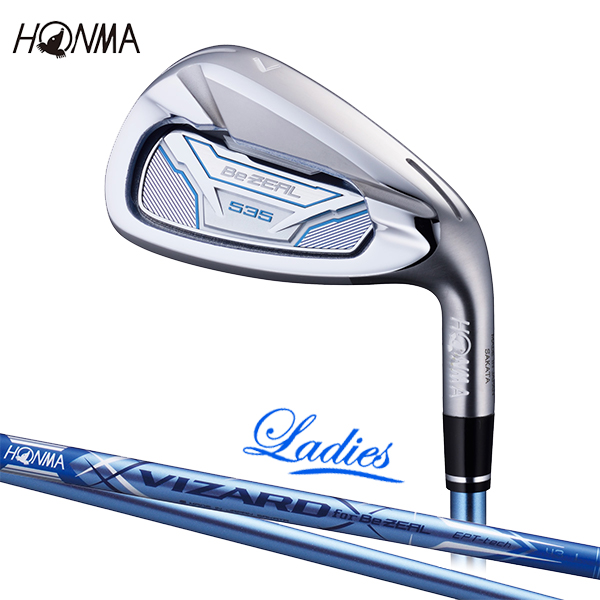 本間ゴルフ ホンマ BeZEAL 535 単品 アイアン ウェッジ (#5、#6、#11) ビジール VIZARD for BeZEAL カーボンシャフト 2018年モデル 【HONMA】