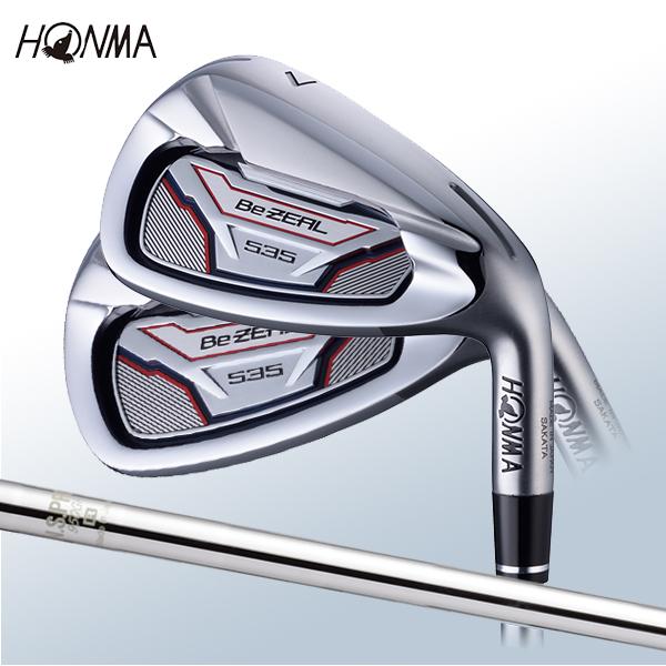 本間ゴルフ ホンマ BeZEAL 535 アイアン 5本セット (#6~#10) ビジール NS950GH スチールシャフト 2018年モデル 【HONMA】
