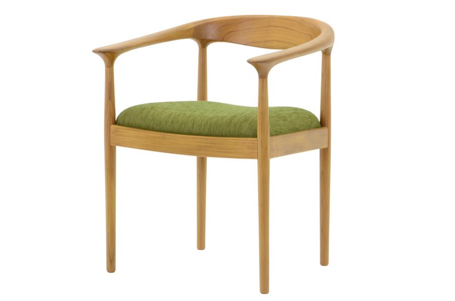 CHLOROSクロロス Bliss アームチェア【ダイニングチェア デスクチェア パソコンチェア 椅子 北欧家具 デザイン チーク無垢材 チーク材 天然木 おしゃれ シンプル 高品質 おすすめ】