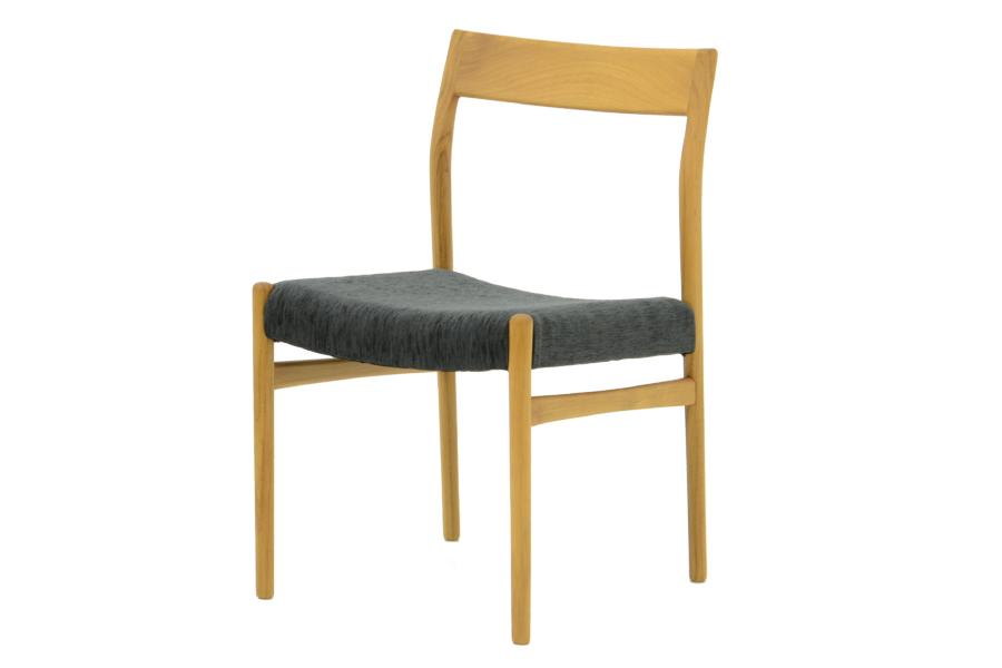 CHLOROSクロロス Cane アームレスチェア R2【ダイニングチェア デスクチェア パソコンチェア 椅子 北欧家具 デザイン チーク無垢材 チーク材 天然木 おしゃれ シンプル 高品質 おすすめ】