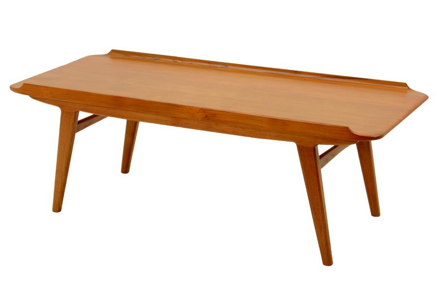 CHLOROSクロロス Shave Solid センターテーブル【コーヒーテーブル ソファテーブル 北欧家具 デザイン チーク無垢材 チーク材 天然木 おしゃれ シンプル 高品質 おすすめ】
