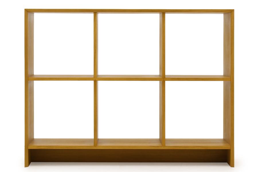 CHLOROSクロロス Sharp Edge スクエアシェルフ 3×2 R2【飾り棚 間仕切り 本棚 ディスプレイシェルフ 収納棚 北欧家具 デザイン チーク無垢材 チーク材 天然木 おしゃれ シンプル 高品質 おすすめ】