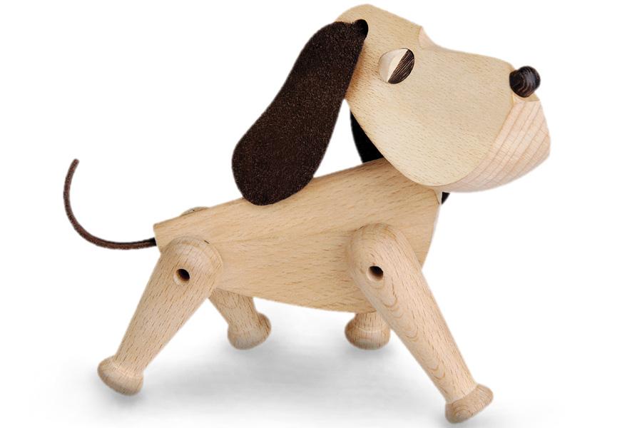 ARCHITECTMADEアーキテクトメイド Oscarオスカー犬【北欧雑貨 デンマーク 天然木製オブジェ 置物 ハンスブリング】