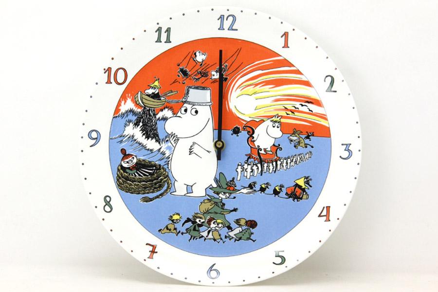 廃盤品 ARABIA アラビア Mumin ムーミン キャラクター掛時計【北欧雑貨 ビンテージ雑貨 アンティーク品 Arabia アラビア ムーミン Mumin 廃盤】