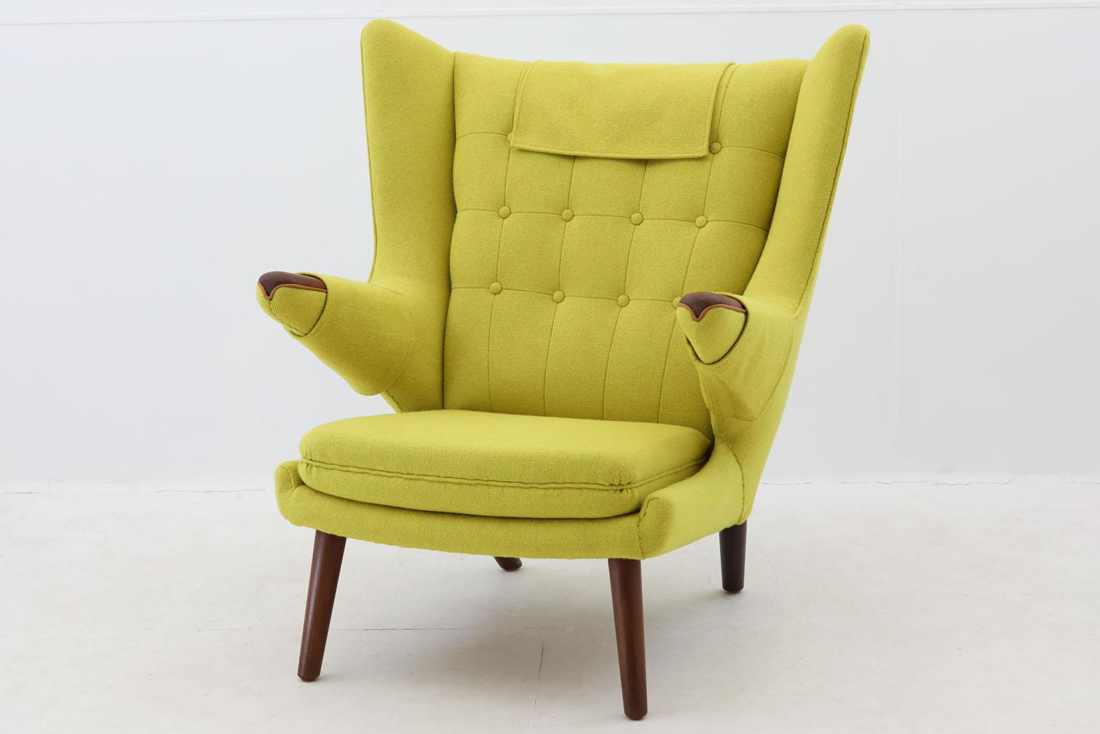 北欧家具ビンテージ AP19 Bear Chair/ベアチェア チーク材 Hans J.Wegner(ハンス・J・ウェグナー)AP Stolen【デンマーク製 1人掛けソファ 1P ラウンジチェア アンティーク 北欧インテリア デザイナー おしゃれ リビング】
