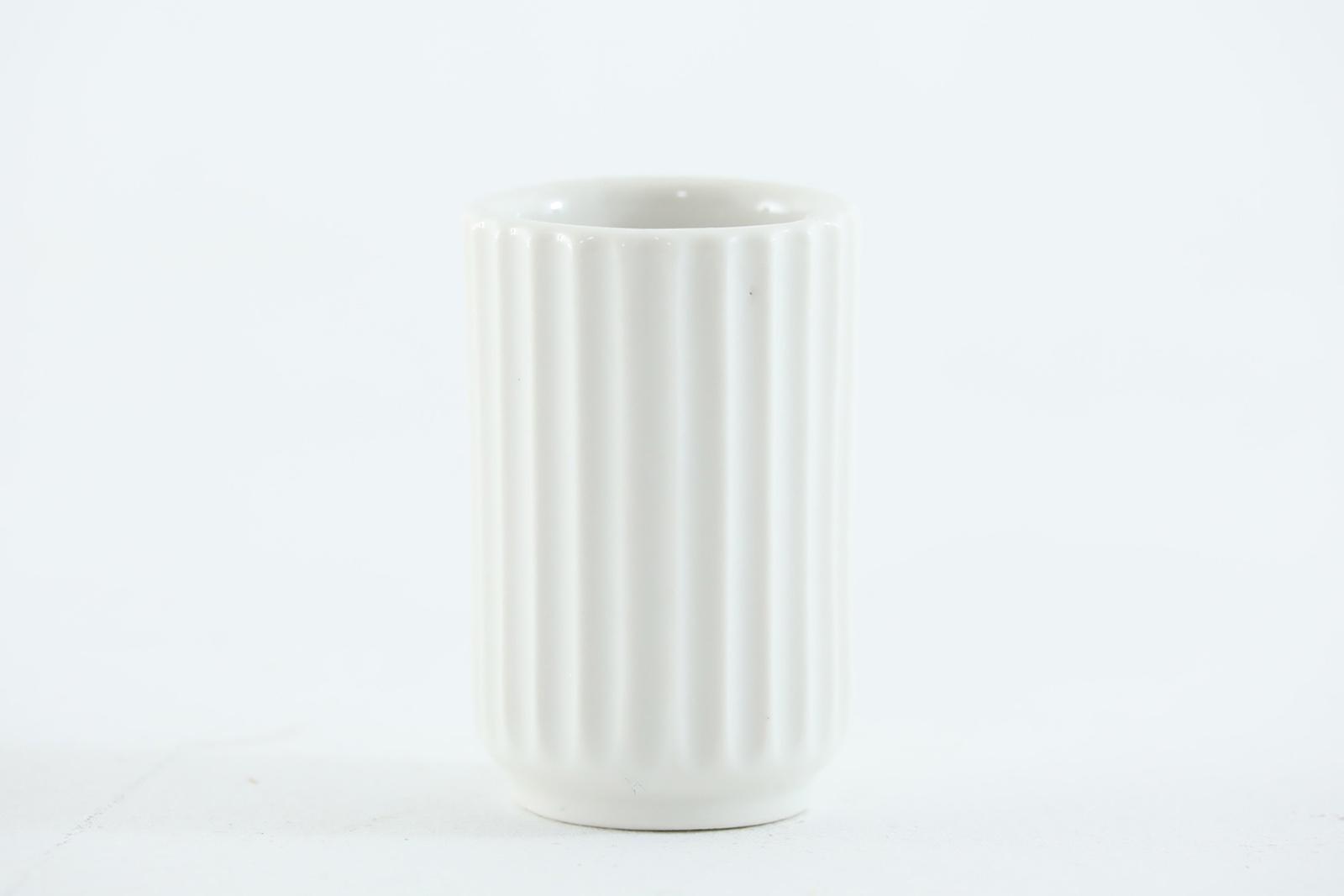 レア品 40年代スタンプ LYNGBYリュンビュー ビンテージフラワーベース 6cm【北欧雑貨 ビンテージ雑貨 アンティーク デンマーク製 一輪挿し 花瓶 置物】