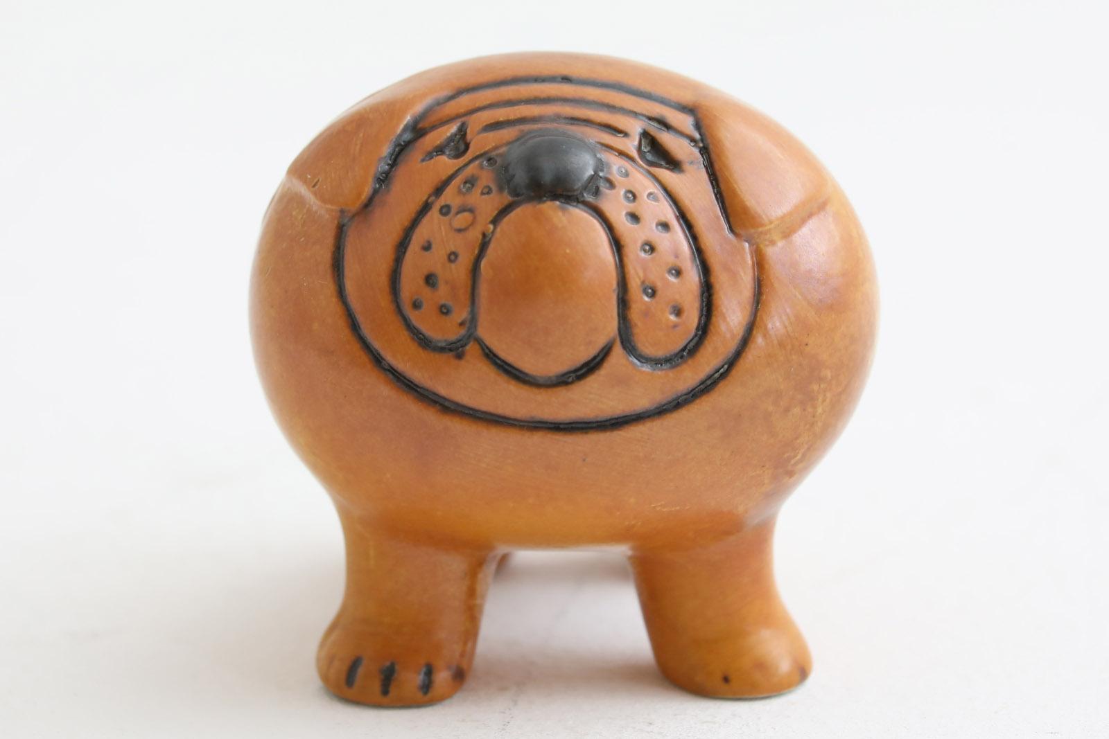 Lisa Larson リサ ラーソン KENNEL 動物 Bulldog Mini 小さなブルドッグ【北欧雑貨 ビンテージ雑貨 アンティーク品 LisaLarson リサラーソン Gustavsberg グスタフスベリ】
