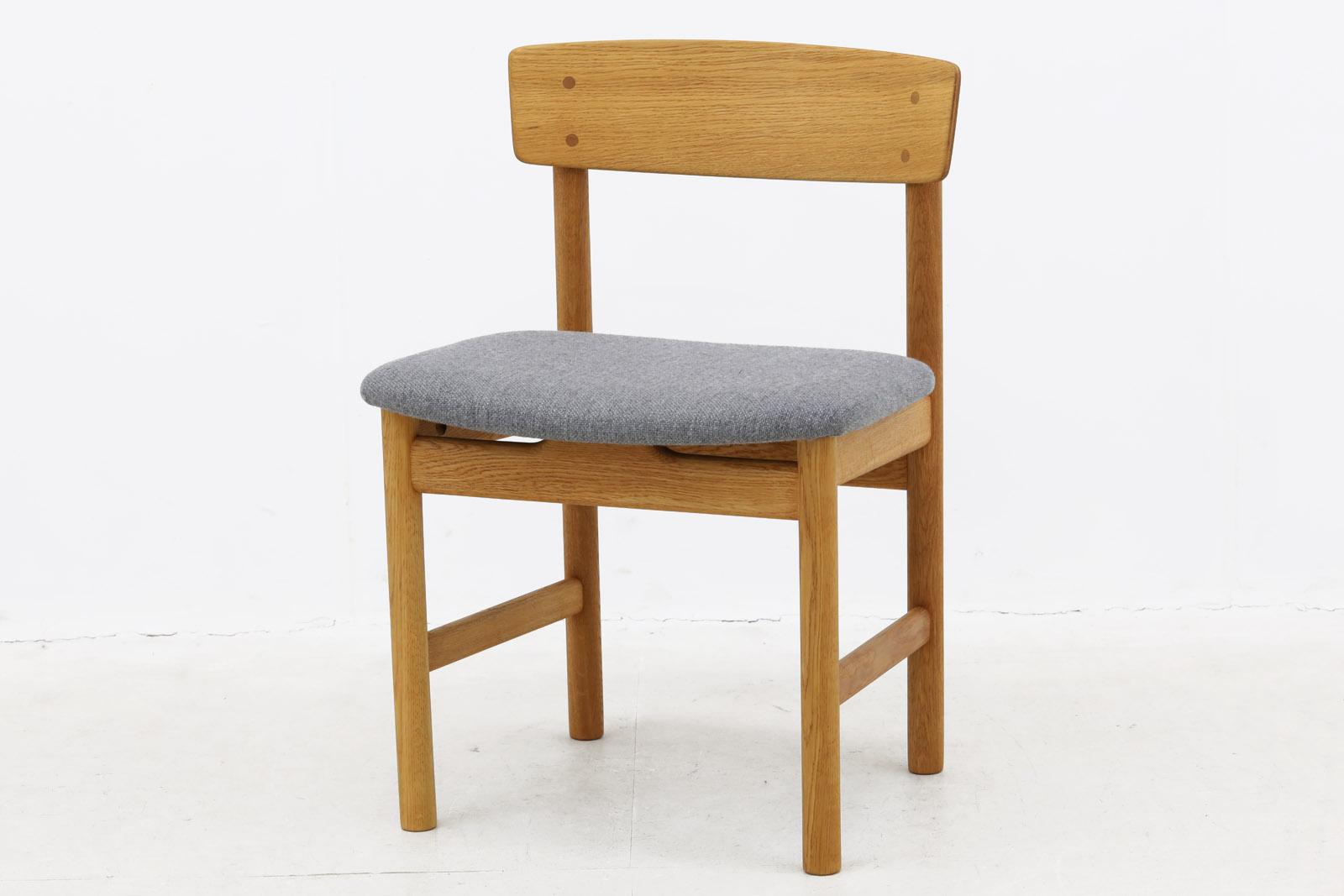 【送料無料】 デンマーク製 Borge Mogensen(ボーエ・モーエンセン) Model 3236 チェア オーク材【アンティーク 木製椅子 デスクチェア 北欧インテリア おしゃれ ナチュラル】