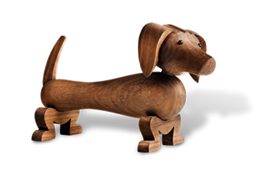 KAY BOJESEN DENMARK カイ・ボイスン デンマーク ダックスフンド【北欧雑貨 木製オブジェ 犬 動物 置物 子供 ギフト プレゼント】