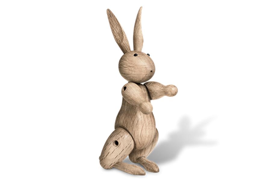 KAY BOJESEN DENMARK カイ・ボイスン デンマーク ウサギ【北欧雑貨 木製オブジェ ラビット 動物 置物 子供 ギフト プレゼント】
