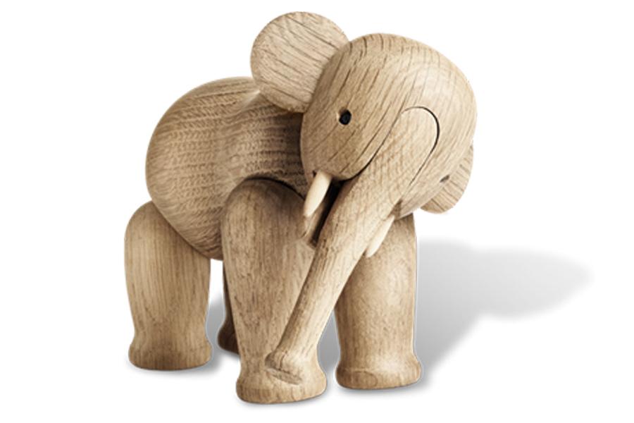 KAY BOJESEN DENMARK カイ・ボイスン デンマーク ゾウ【北欧雑貨 木製オブジェ 動物 置物 子供 ギフト プレゼント】