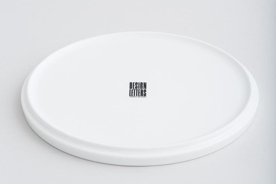 DESIGN LETTERSデザインレターズ Arne Jacobsen アルネ ヤコブセン パーソナルポーセリンプレート(N~Z)