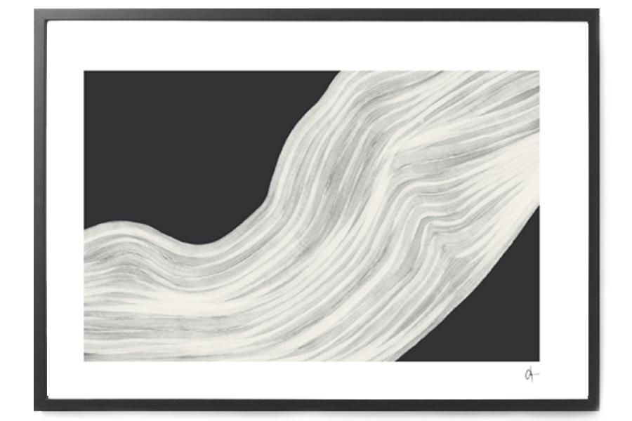 Nord Projects ポスター/アートプリント 70×100cm Torso【イラスト インテリア 北欧雑貨 おしゃれ 壁掛け 絵画 パネル モダン モノクロ モノトーン スウェーデン】