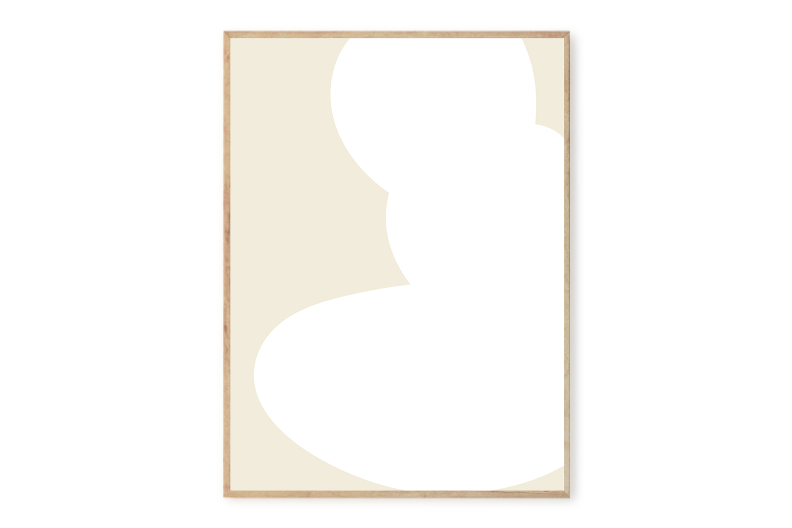 THE POSTER CLUB × SOMEE ポスター/アートプリント 50×70cm Moriri【イラスト インテリア 北欧雑貨 おしゃれ 壁掛け 絵画 パネル モダン モノクロ モノトーン デンマーク コペンハーゲン】