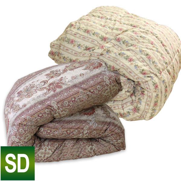 【訳あり】 羽毛布団 SDL セミダブルロング 170×210cm 【詰め物 ダウン85%以上】 【選べる2タイプ】【展示品処分】【色やけ・汚れなど】【色柄おまかせ】 アウトレット