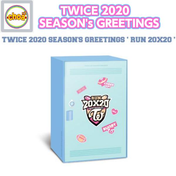 TWICE 2020 SEASON'S GREETINGS 'RUN 20X20' OFFICIAL MD /トゥワイス 公式カレンダー