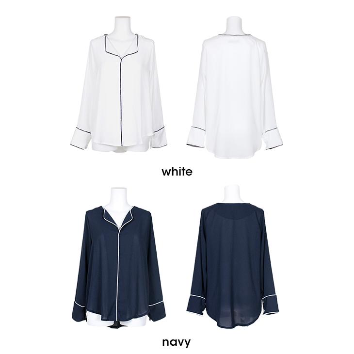 V线衬衫全2色V线