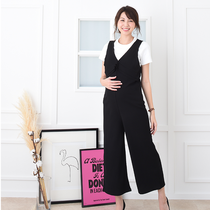 687b6421ed07c ... Maternity clothes maternity dress office uniform office rib before  childbirth after giving birth stretch adjustable size ...