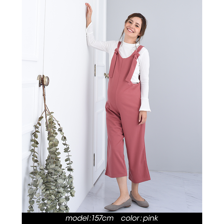 chocoa which adult salopette maternity clothes maternity dress overall office uniform office before childbirth after - Christmas Maternity Dress
