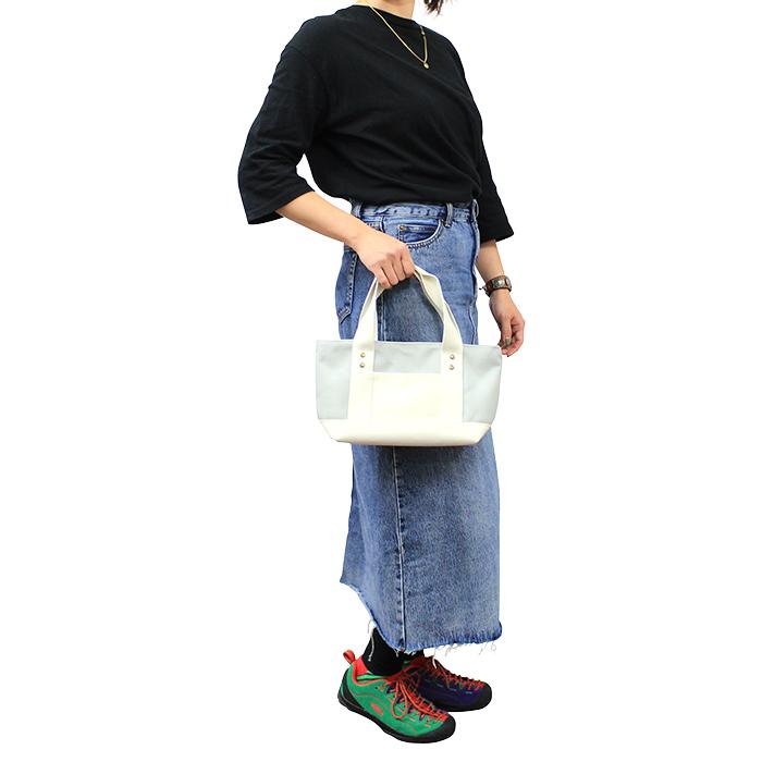 トートバッグ お散歩バッグ ランチバッグ ランチトート 撥水加 MandarineBrothers/EASY GOING MINI TOTE BAG