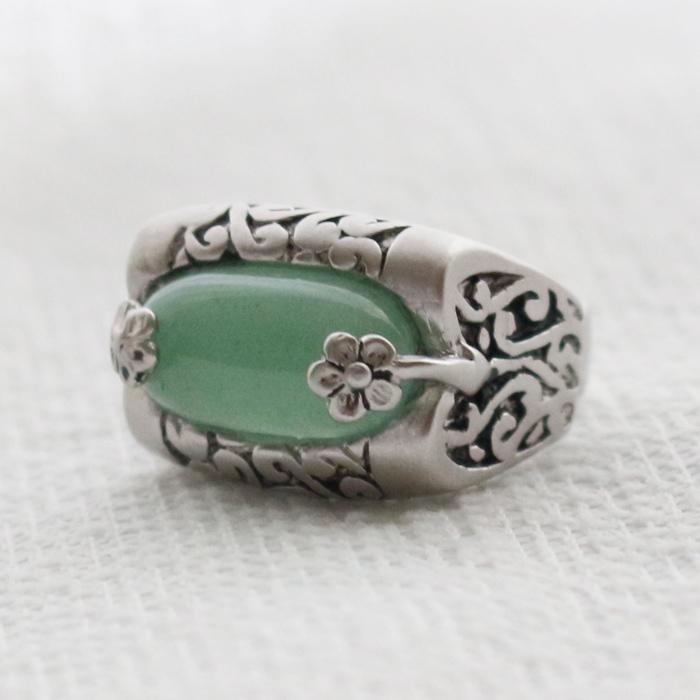 指輪No41翡翠の指輪■yubiwa-41-s【ギフト】【お土産】