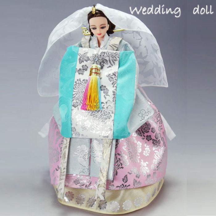 ウェディングウォンサン人形■doll-w2-s【ギフト】【お土産】【結婚祝】