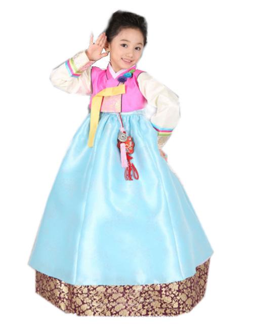 ■子供チマチョゴリ販売単品eヘヨン(身長103cm 5号サイズ)■キュートシリーズ■目安年令4-5才■ge1114-17-5