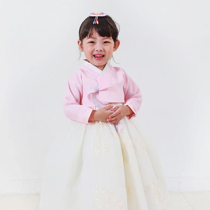 優しいピンクのかわいい女の子チマチョゴリ ■チマチョゴリセットeミソ(身長83~85cm 2号サイズ)■キュートシリーズ■目安年令1-2才■sa-ge1219-20-yg2-1-2