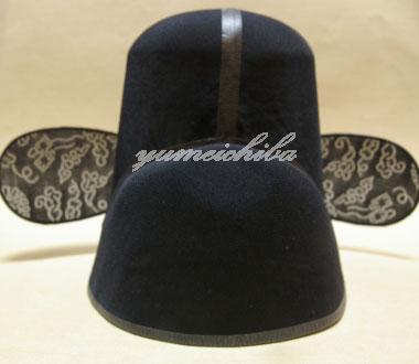 韓国新郎帽子黒沙帽・サモ■samo-1-s【ギフト】