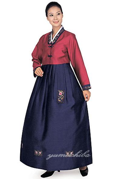 縫製済レディメードケリャンチョゴリ取寄せ販売・13k-076■k-sok-13k-076-s