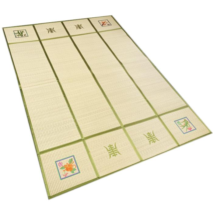 韓国伝統のい草の茣蓙カーペット・160×220■goza-2-s【ギフト】【お土産】