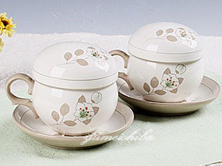 韓国木槿茶器2客8ピース (2客分・蓋、茶こし付き)■chaki-5-s【ギフト】【お土産】【長寿祝】【引出物】
