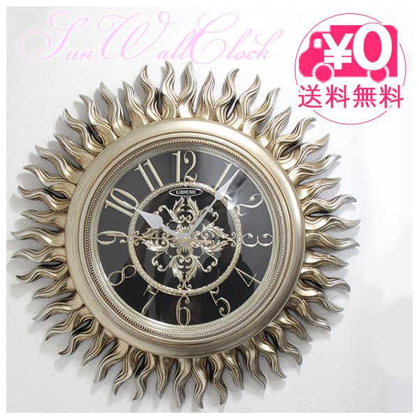 【送料無料】 ビクトリアン パレス ウォールクロック ヴィーナス ls-bq8110ny ゴールド gold 壁掛け時計 クロック アンティーク調 姫系 ロココ調 デザイン