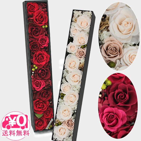 【送料無料】 バーディープラン Dozen Roses ブリザードフラワー ボックス入り ボックス ローズアレンジメント インテリア プレゼント 贈り物 薔薇 バラ 花 華 ハナ オシャレ かわいい 華やか